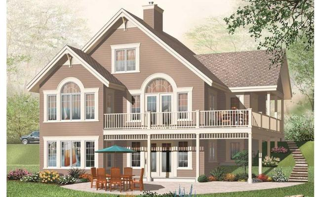 Traditional House Plans Home Design Dd 3956b