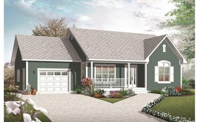 Country Home Plan 2 Bedrms 1 Baths 1113 Sq Ft 126 1070