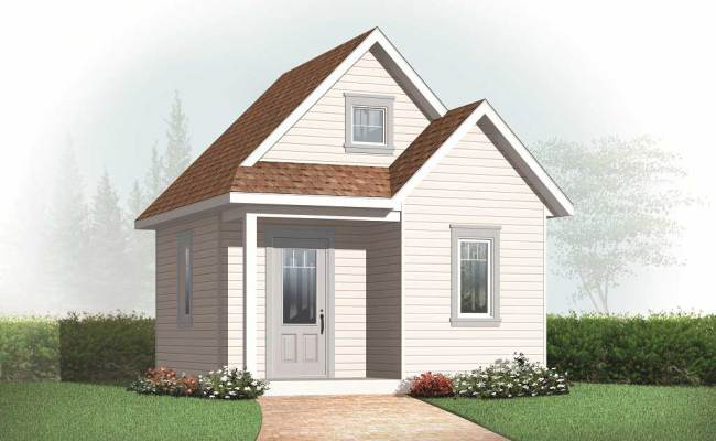 Specialty House Plan 0 Bedrms 0 Baths 352 Sq Ft
