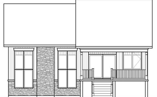 Split Level House Plans Home Plan 126 1083