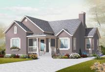 Small Country House Plans - Home Design 3133
