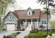 Country Bungalow House Plans