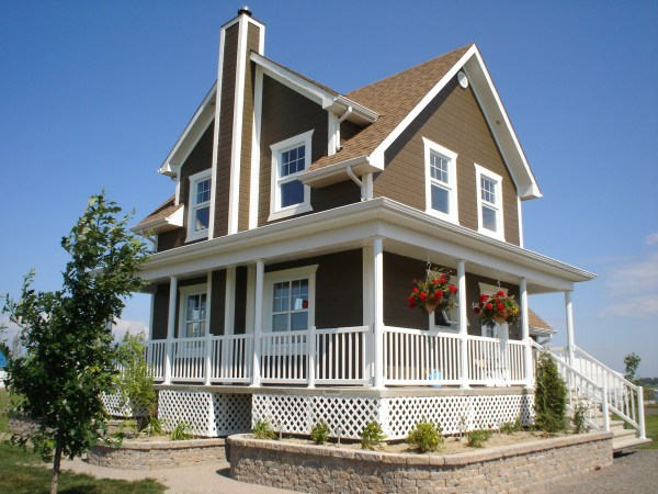 Vacation Homes Country House Plans - Plan 126-1018