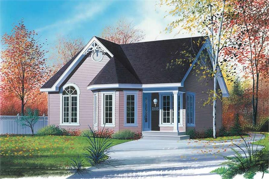 Victorian Bungalow Contemporary Country House Plans