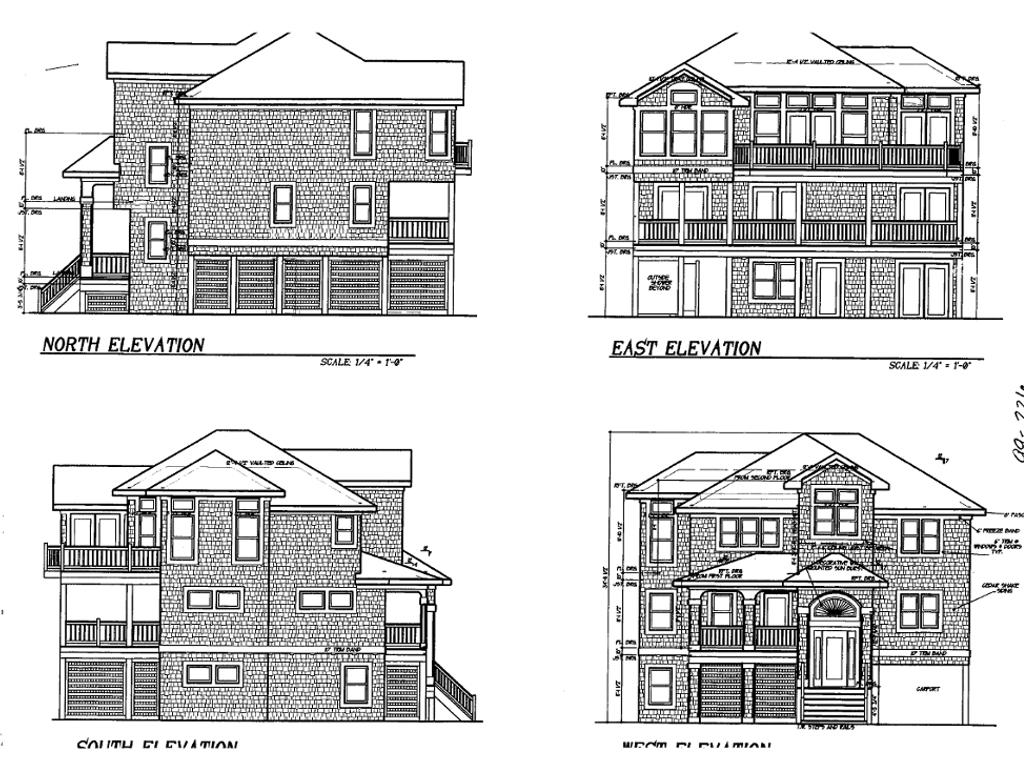House Plan #130-1009 : 6 Bedroom, 2791 Sq Ft Coastal