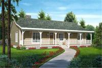 Country Ranch House Plans - Home Design 20227