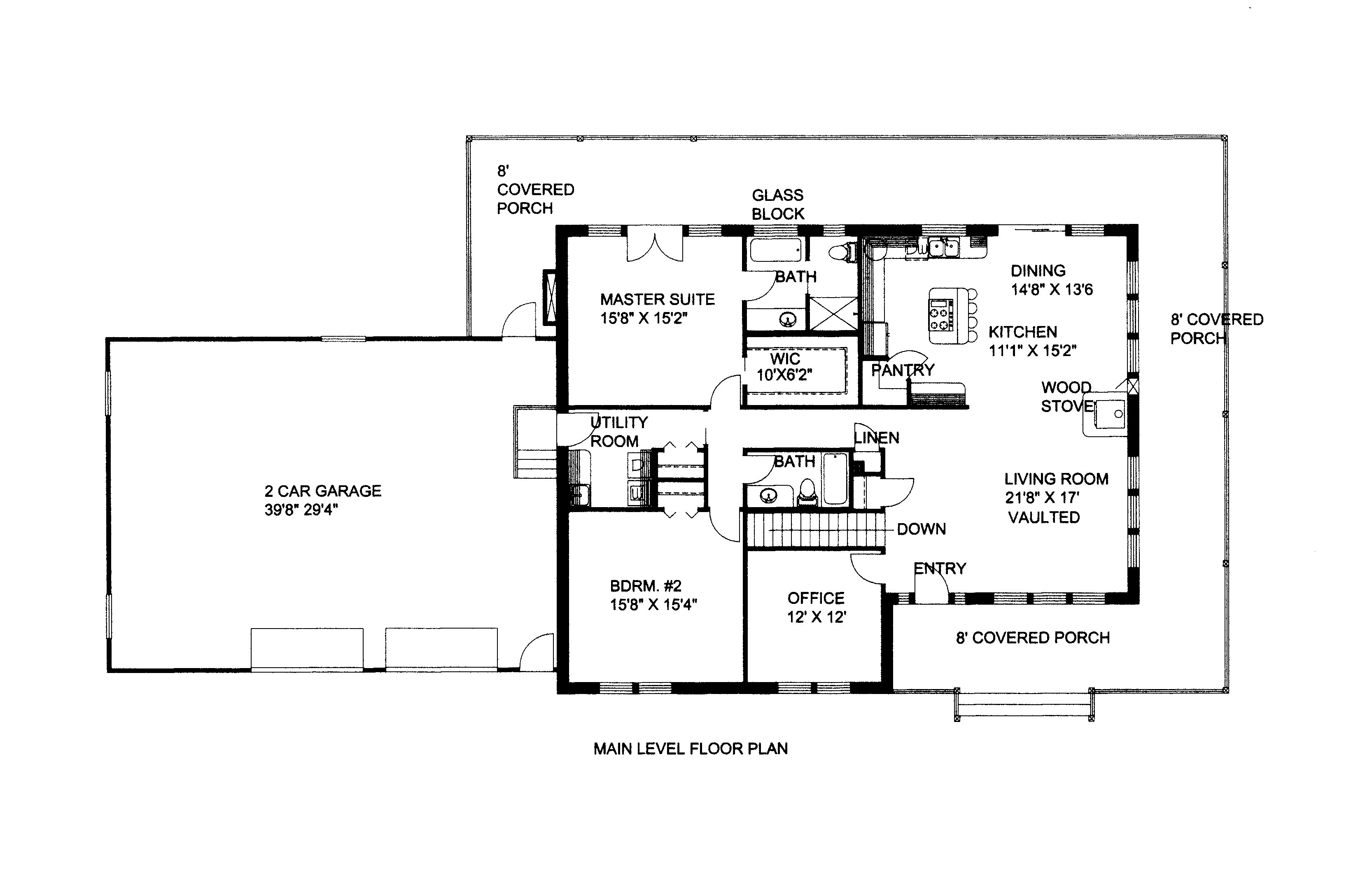 Traditional House Plan #132-1525: 4 Bedrm, 4026 Sq Ft Home