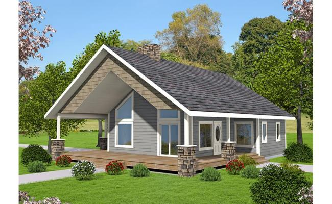 2 Bedrm 1176 Sq Ft Small House Plans House Plan 132 1697