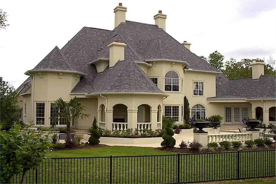 Luxury House Plan European Home Plan #134 1326