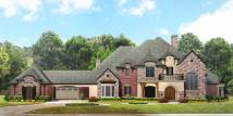 European Manor House Plan #134-1350 4 Bedrm 5303 Sq Ft
