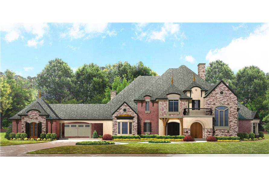 European Manor House Plan 1341350 4 Bedrm 5303 Sq Ft