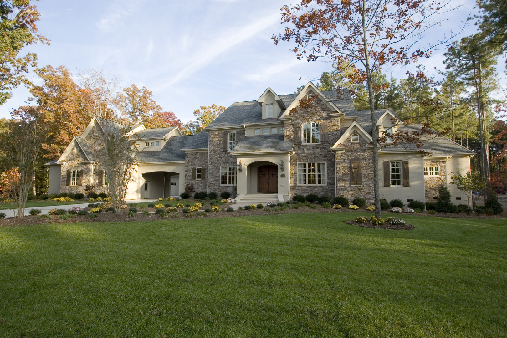 5400 Sq Ft Luxury Country Manor House Plan 1341351 4