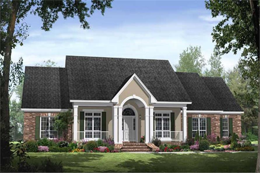 Country House Plans HPG2769