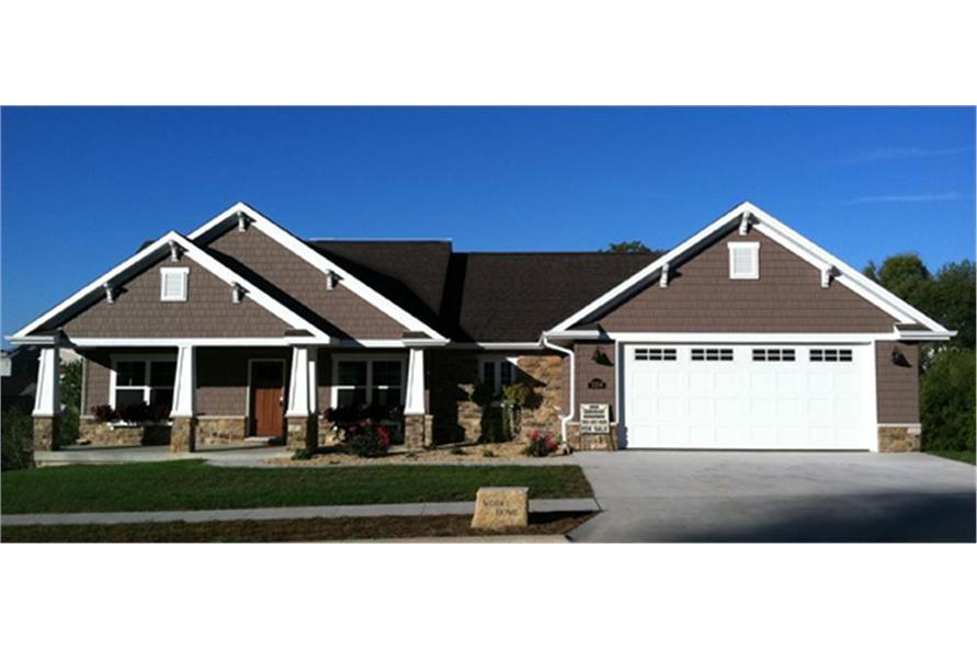 3 Bedrm 1637 Sq Ft Craftsman House Plan 1411242