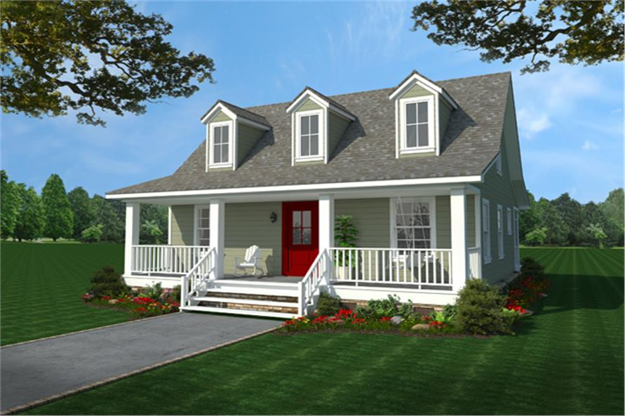 Country House Plan 1411303 2 Bedrm 1016 Sq Ft Home  ThePlanCollection