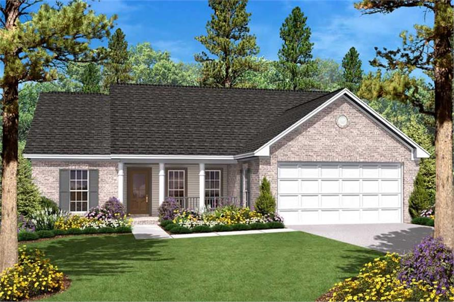 Traditional Country Ranch House Plans  Home Design