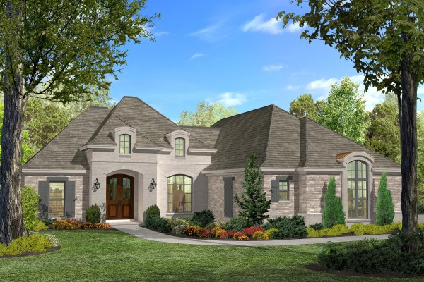 Acadian House Plan #142-1124 3 Bedrm 1937 Sq Ft Home