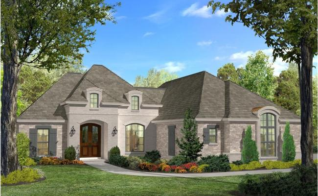 Acadian House Plan 142 1124 3 Bedrm 1937 Sq Ft Home