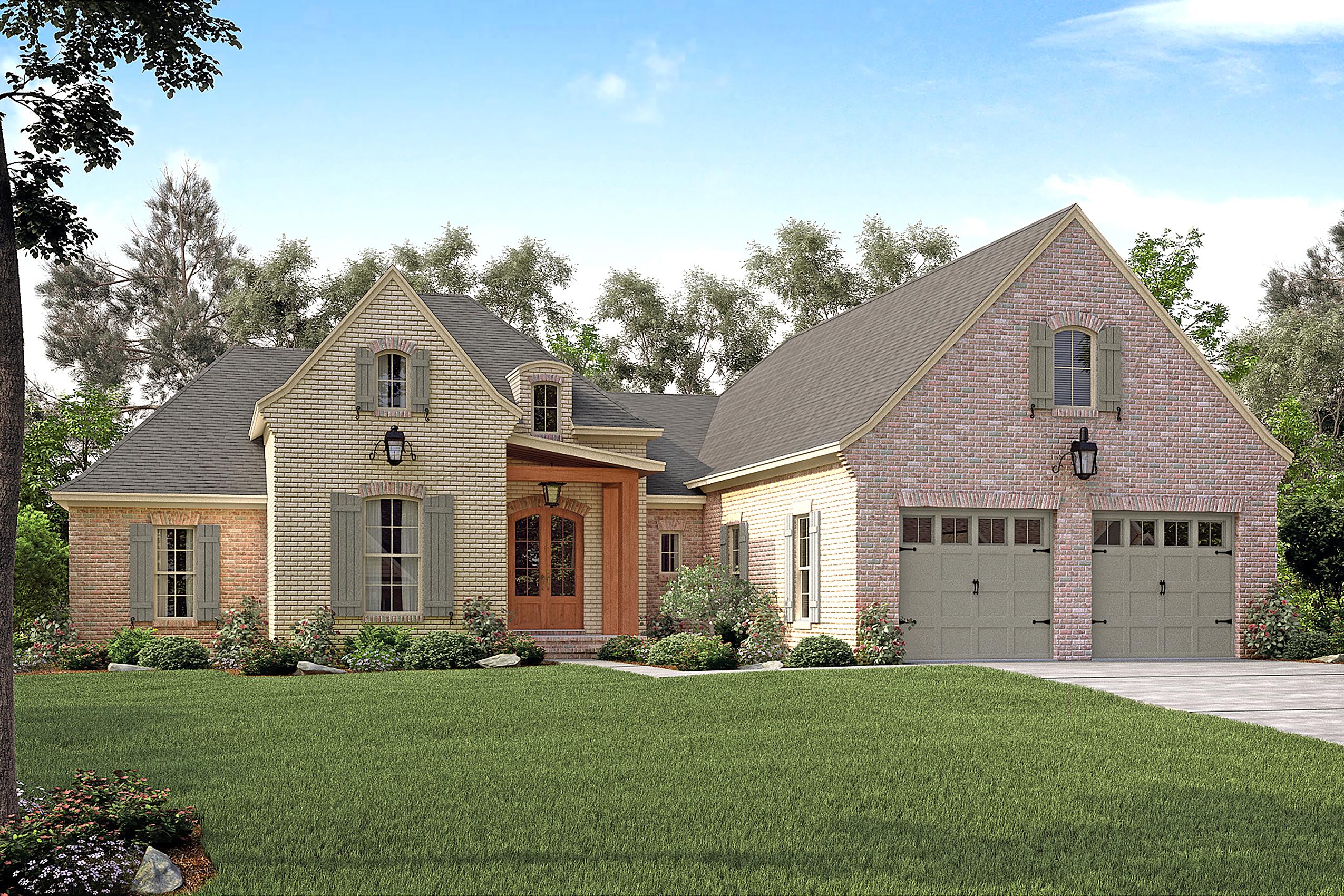 French House Plan 1421149 3 Bedrm 2217 Sq Ft Home Plan  TPC