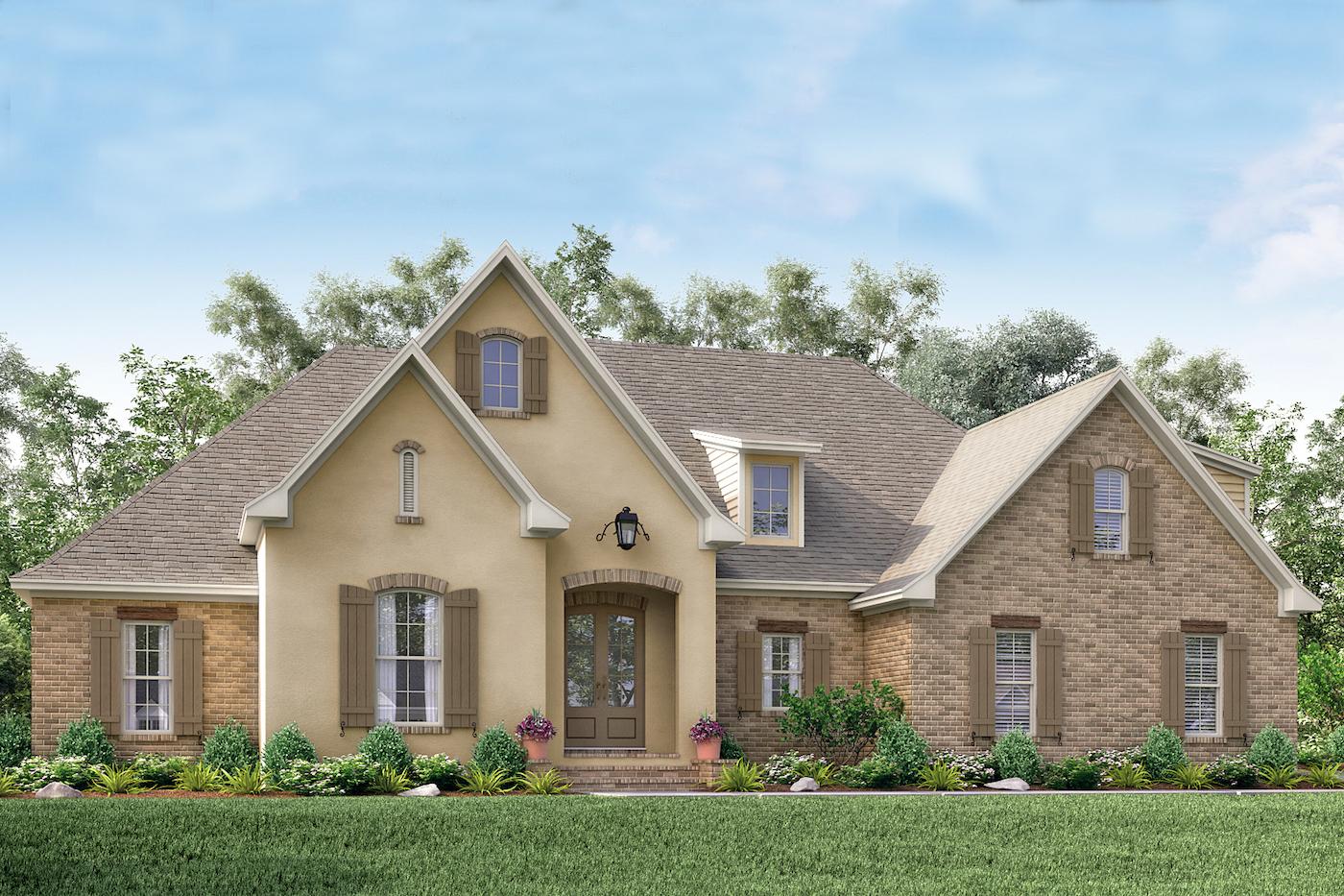 Acadian House Plan 1421154 4 Bedrm 2210 Sq Ft Home Plan