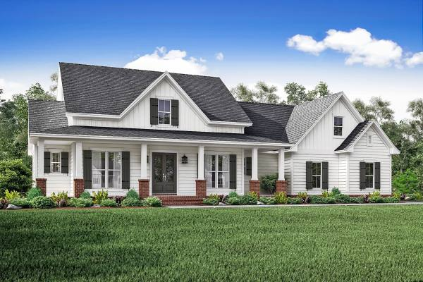 3 Bedrm 2466 Sq Ft Country House Plan #142-1166