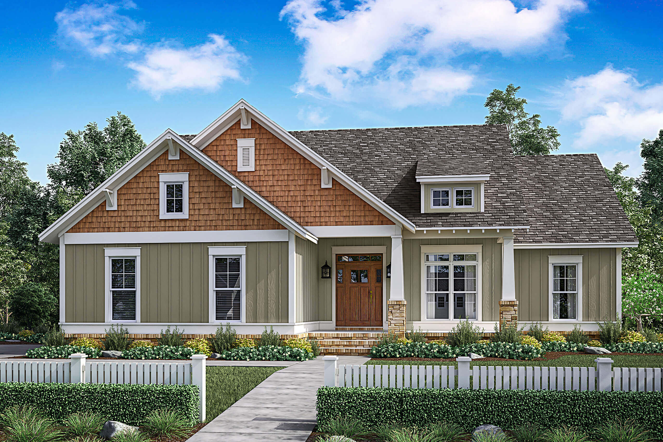 3 Bedrm 1657 Sq Ft Traditional House Plan 1421176