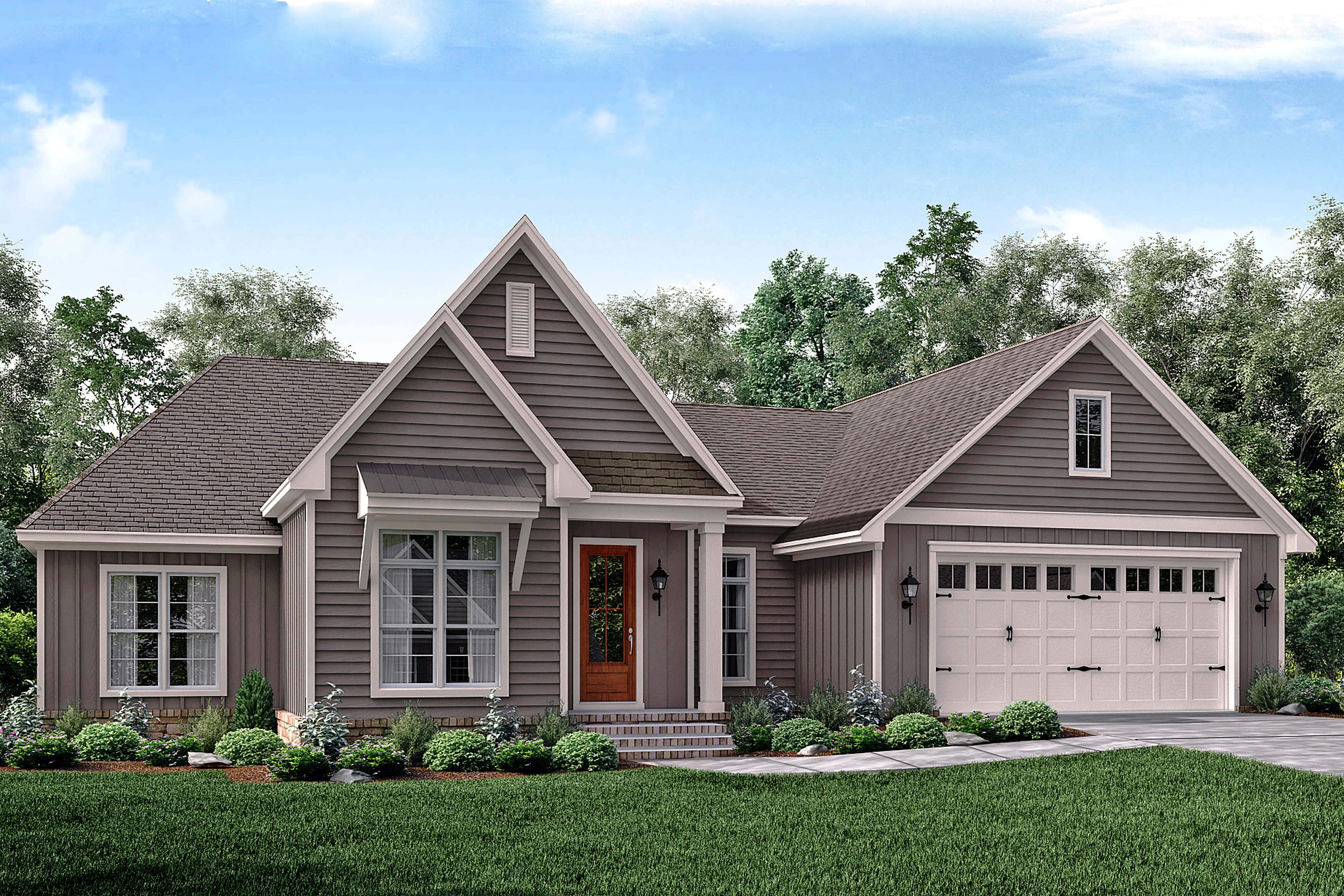 3 Bedrm 2019 Sq Ft Traditional House Plan 1421178