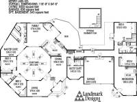 Large Ranch House Plans Inspiration - House Plans | 64580