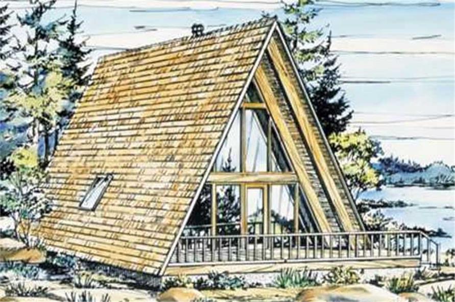 AFrame House Plans  Home Design LSH151