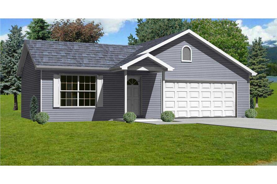 Small Home Plans  Home Design mas1046