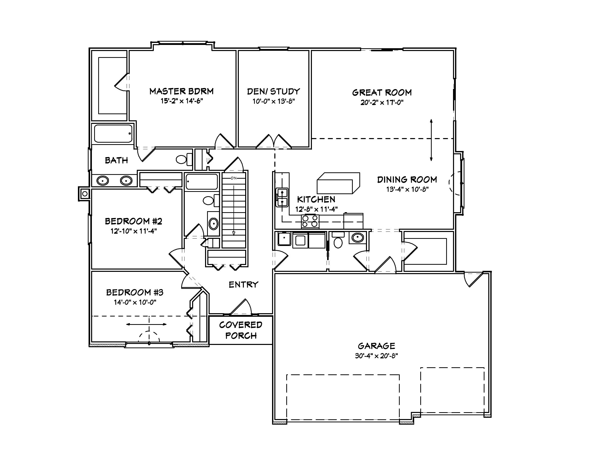 Ranch Home Plans