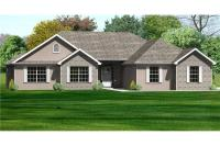 Traditional Ranch House Plans - Home Design mas1069