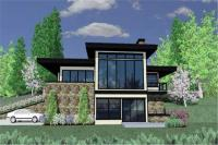 Contemporary Prairie Home Plans