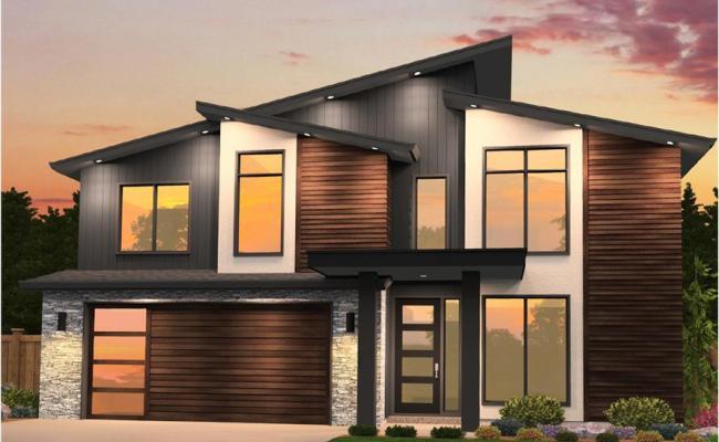 Contemporary House Plan 4 Bedrms 2 5 Baths 2402 Sq Ft