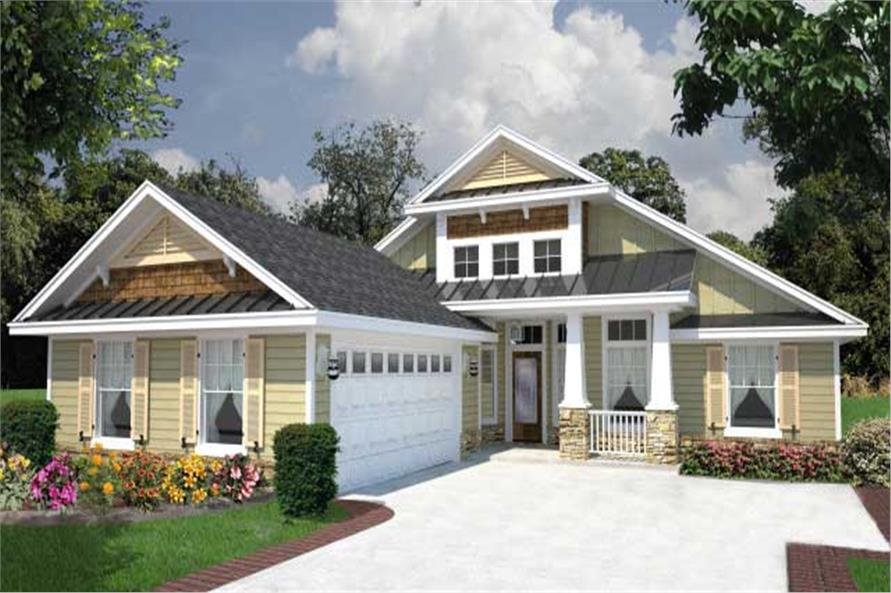 Great curb appeal House Plan 1501008