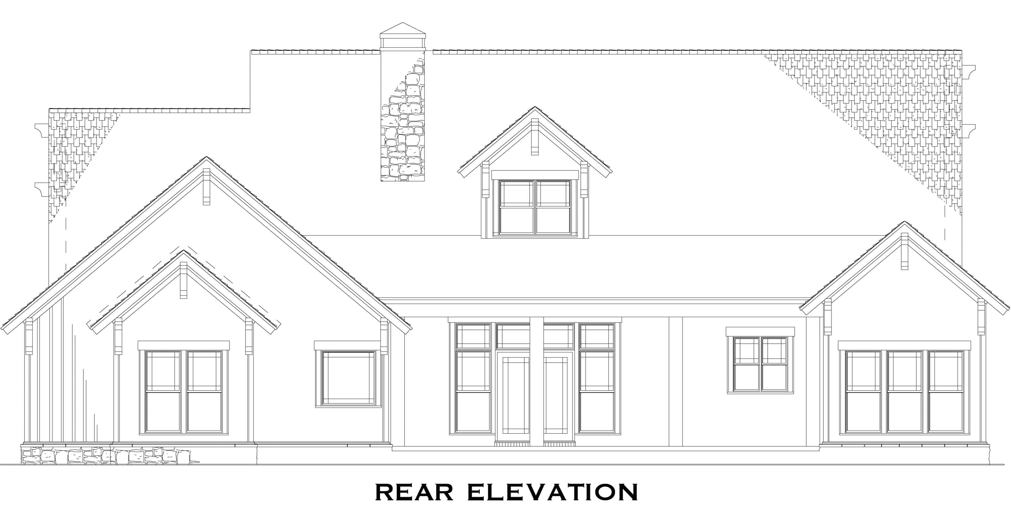 Rustic Craftsman House Plan