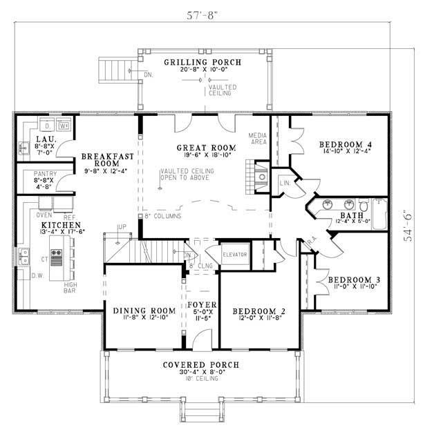 House Plans: NDG-760
