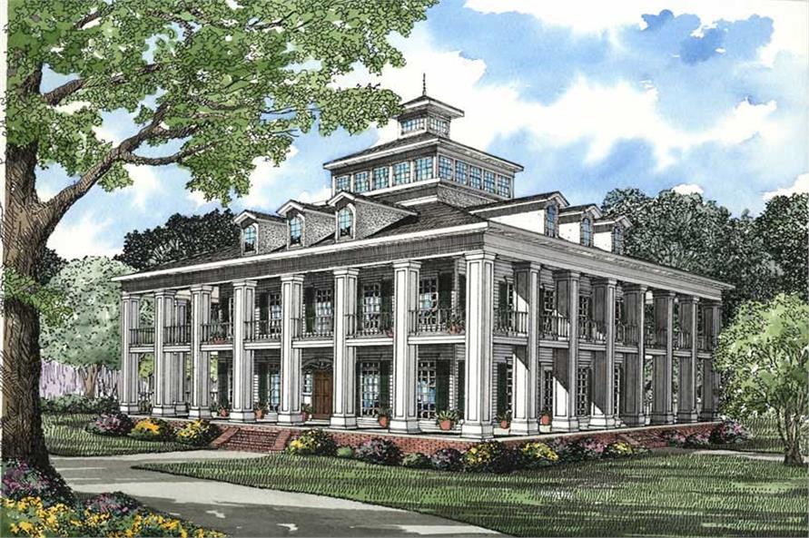 5 Bedrm 4874 Sq Ft Southern House Plan #153 1187
