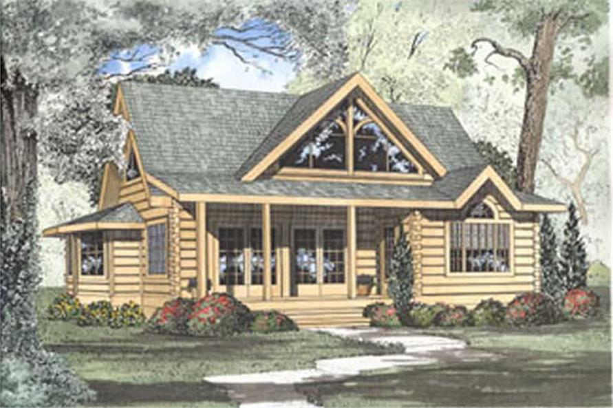 Cabin Plans & Log Home Plans The Plan Collection
