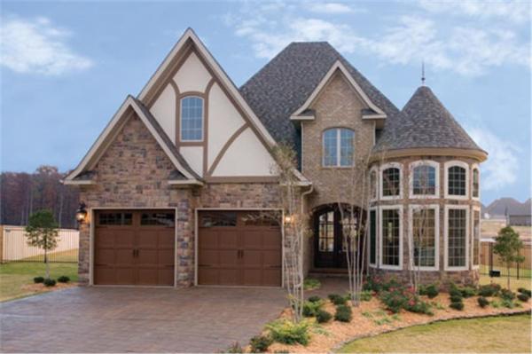 European Tudor House Plans Home Design 1531750 The