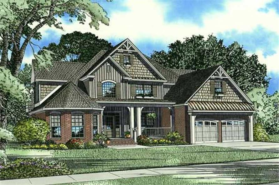 Traditional House Plans  Home Design Ambrose Boulevard  17660