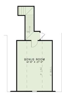 European Home Plan - 3 Bedrms, 2.5 Baths - 2070 Sq Ft ...