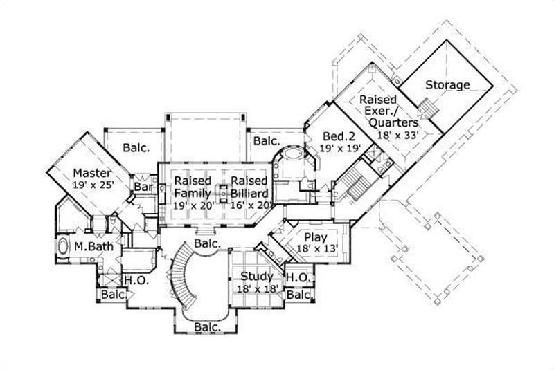 1 Story 3 Bedroom House Plans
