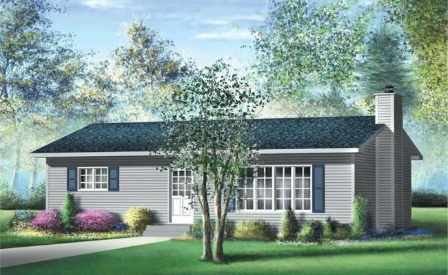 Small Traditional Ranch House Plans Home Design Pi