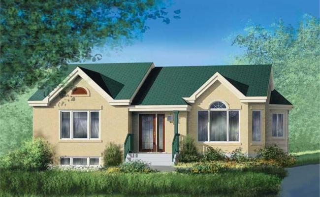 Ranch House Plan 2 Bedrms 1 Baths 1139 Sq Ft 157 1100