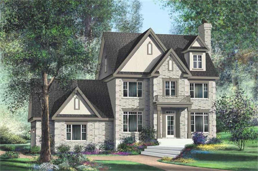 MultiLevel House Plans  Home Design P20641  12237