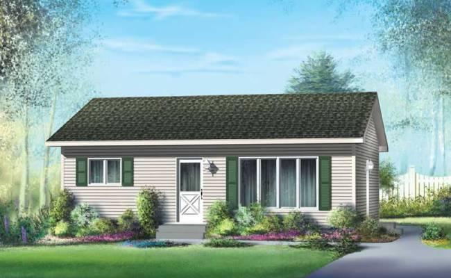 Ranch House Plan 2 Bedrms 1 Baths 768 Sq Ft 157 1451