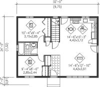 Small, Traditional, Ranch House Plans - Home Design PI ...