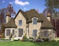 European House Plans - Home Design PDI536