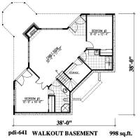 Lakefront Home Plans - Home Design 641